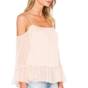 Lovers + Friends Pink Top